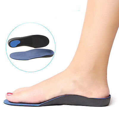 Insoles Orthotic  for Arch Support Plantar Fasciitis Flat Feet Back & Heel Pain#