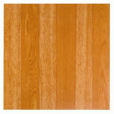 Wood Square Vinyl Floor Tiles Self Adhesive Stick on Bathroom Kitchen 4ft Cover