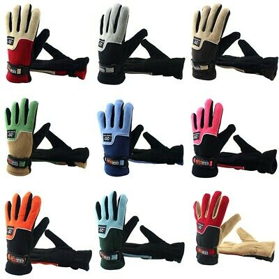 Mens Womens Sports Warm Thermal Windproof Ski Snow Motorcycle Snowboard Gloves