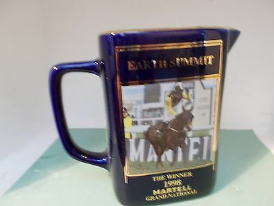 Martell Grand National Water Jug earth summit 1998 number 5064 of 6000