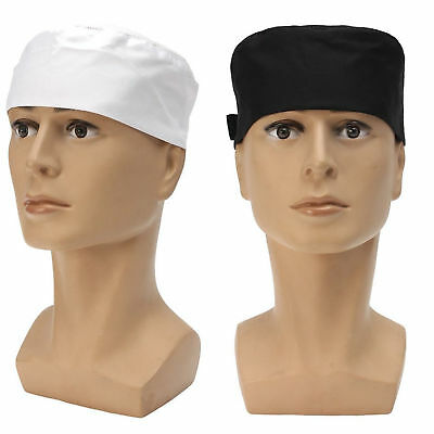 Professional Chefs Mesh Top Skull Cap Restaurant Kitchen Cook Chef Catering Hat