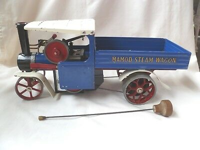 Vintage~MAMOD~Live~Steam~Engine~Wagon~Lorry~Truck