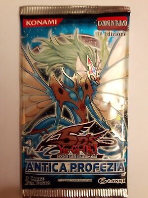 Yu-Gi-Oh Booster -Ancient Prophecy Booster 1. Auflage (italienisch) - OVP