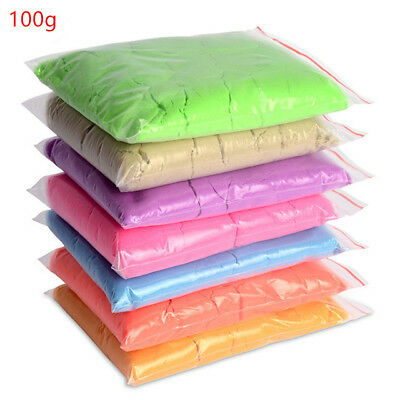 100g/bag Slime Clay Dynamic Sand Gift Amazing Indoor Magic Play Sand Educational
