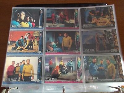 Star Trek TOS The Original Series Season 3 Complete Mini Master Set from Skybox