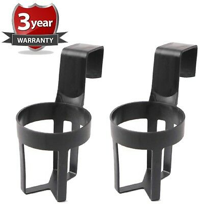2X New UNIVERSAL WNB In Car Drinks Cup Bottle Can Holder Foldable & Clip On