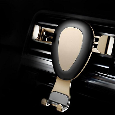 Metal Gravity Car Phone Holder Auto Lock Phone Stand Mobile Support Phone Holder