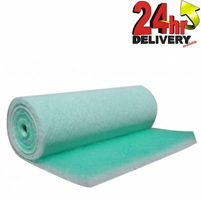 1x20m Fibreglass Filter Roll Filtration of Solvent Based Paint/Lacquer-particles