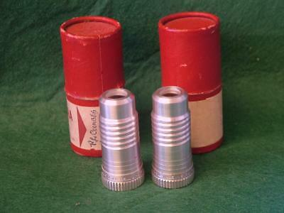 """2 x Vintage Bell & Howell INCRELITE 1"""" f/1.6 Projector Lenses"""