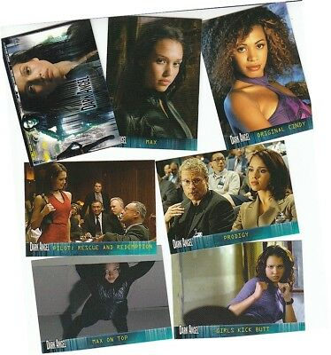 Dark Angel Premiere - 72 Card Basic/Base Set - Topps 2002