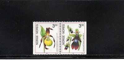 Norway 1992 Orchids (2nd series) SG 1141/2  MUH