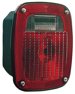 Peterson V445 Universal 3-Stud Combination Tail Light, Red