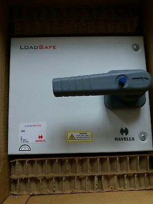 Havells Lsedf323N 32A 32A Three Phase Switch Disconnector Metal Clad