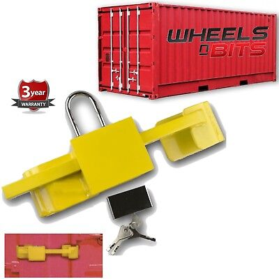 20/40FT HQ Goods Shipping Container Lock Hardened Steel Lorry Truck with 2 keys