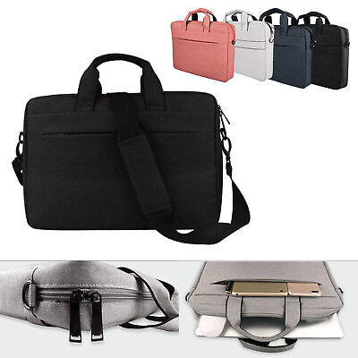 "Laptop Shoulder Bag Carry Case Handbag For 13.3"" 14"" 15.6"" MacBook Notebook PC"