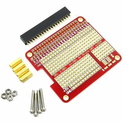Raspberry Pi Prototyping Shield A+ B+ B Pi 2 Pi 3 GPIO SOIC Bread Flux Workshop