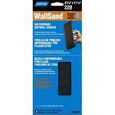 Norton 02049 Wallsand Waterproof Drywall Screen, Grit 220
