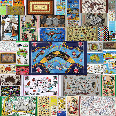 New Cotton Australia Kitchen Tea Towels Linen Teatowels Dish Cloth Souvenir Gift