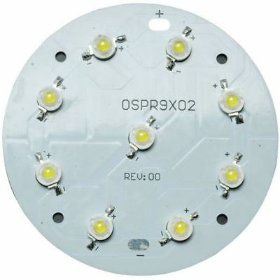 TruOpto OSPR9X02-W4XZE1E1E White 6500K 9x1W Power LED 900lm