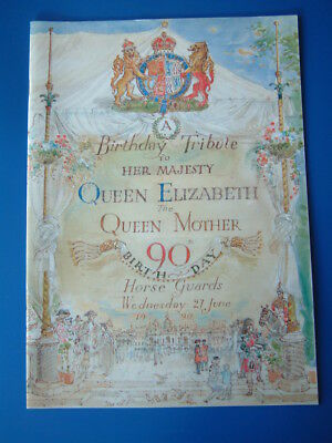 Royalty: HRH Queen Elizabeth the Queen Mother, 90th Birthday Tribute Booklet