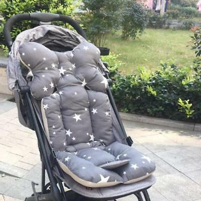 Baby Stroller Pad Seat Warm Cushion Pad Mattress Pillow Cover Car Set Printed