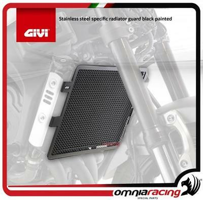 GIVI Stainless steel specific radiator guard black painted Yamaha XSR900 2016>