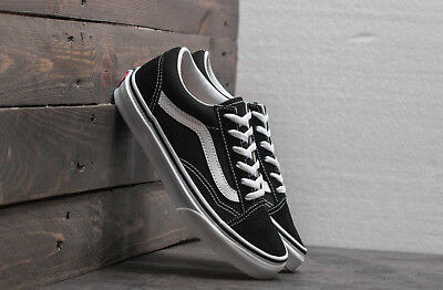 VANS scarpe uomo donna Old Skool black white skate sneakers 126743584ca