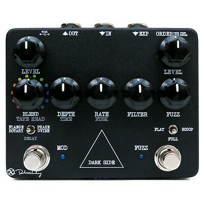 Keeley Electronics Dark Side V2 Fuzz, Delay & Modulation David Gilmour Pedal