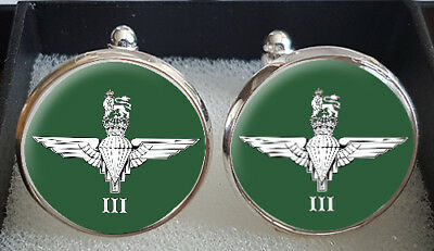 3 Para Cufflinks - A Great Gift