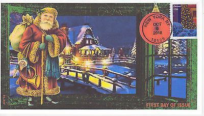 Jvc Cachets - 2016 Holiday Windows Issue First Day Cover Fdc Christmas Design #3