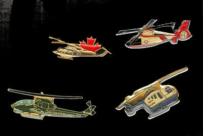 Helicopter Lapel pin lot