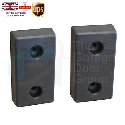1 X Pair Of Loading Bay Rubber Dock Shelter Buffer 100Mm Lorry Rubber Bumpers