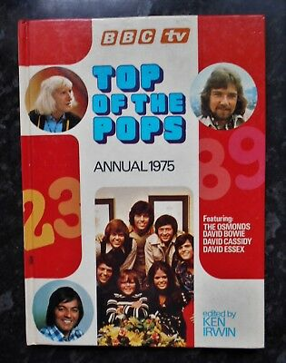TOP OF THE POPS ANNUAL 1975: Osmonds, David Bowie, David Essex..Etc.