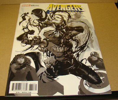 Avengers #675 One Per Store Party Sketch Variant First Print Marvel Comics