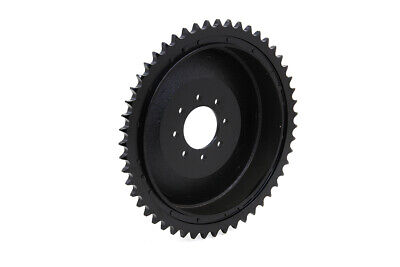 Rear Brake Drum Black,for Harley Davidson motorcycles,by V-Twin