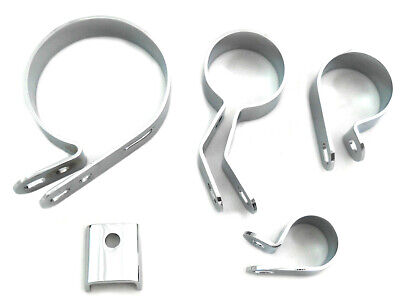 Chrome Exhaust Clamp Kit,for Harley Davidson motorcycles,by V-Twin