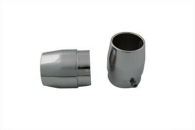 Straight Exhaust Pipe Tip Set,for Harley Davidson motorcycles,by V-Twin