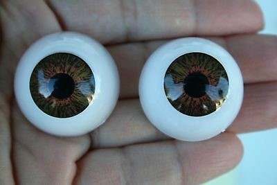 Doll Eyes 30 mm 1 pair brown animal toys reborn crafts