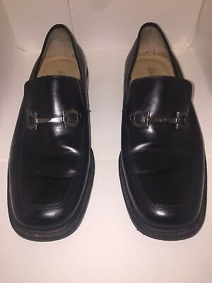 7940ba66a430 Salvatore Ferragamo Men s Shoes Loafers Black Size 8 1 2 EE - made in Italy