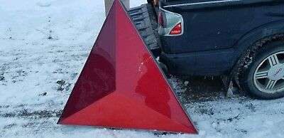 VINTAGE CITGO GAS STATION authentic METAL&PLASTIC LARGE SIGN approx 33by33
