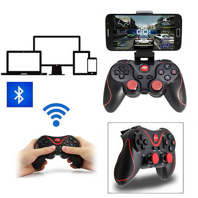 Wireless Bluetooth Game Gamepad Handle Backet For Android Phone TV PC
