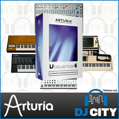 Arturia V Collection 6 Software Synthesizer VST Plug-in Bundle Studio Sound Pack