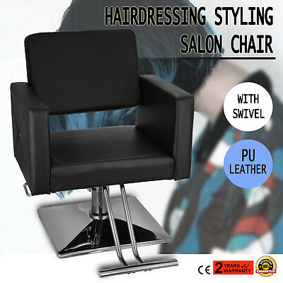 Hydraulic Barber Salon Chair Beauty Leather Multiuse Furniture Cutting