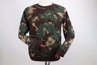 17's series China PLA Special Forces Digital Camo Winter Knitted Sweater Uniform
