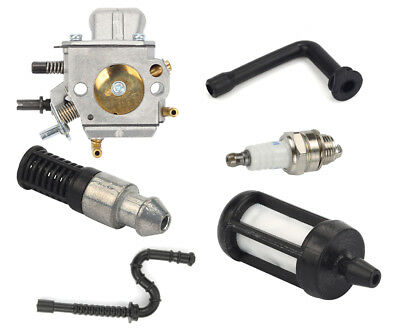 Carburetor For STIHL MS290 MS310 MS390 029 039 Chainsaw Fuel Filter Oil line