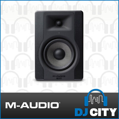 M-Audio BX5 Powered 5 Inch Studio Monitor Active Reference Speaker Single