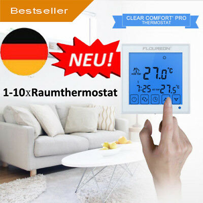 Floureon Smart Raumthermostat Touchscreen Thermostat LCD Display Wandthermostat