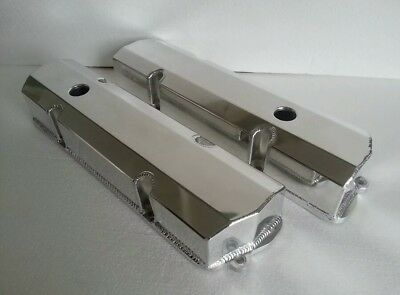 Holden V8 253 308 Sheet Alloy Fabricated Valve Rocker Covers