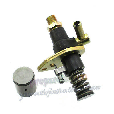 Fuel Injector Pump No Solenoid For 186 186F 10HP Yanmar Diesel Engine Motor L100
