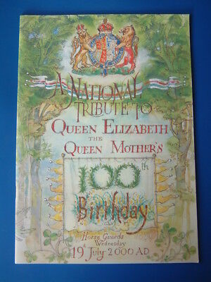 Royalty: HRH Queen Elizabeth the Queen Mother, 100th Birthday Tribute Booklet